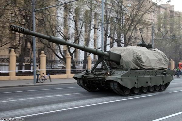 Siêu pháo tự hành vừa lộ diện của Nga mạnh cỡ nào? - ảnh 4