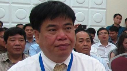 Ông Vũ Quang Khôi trong ngày 10/5, khai mạc kỳ thi.