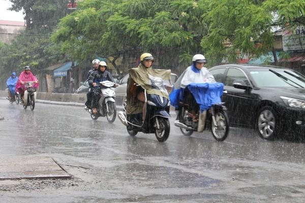 Lái xe ô tô mùa mưa: cảnh giác xe gắn máy, xe tải - ảnh 5