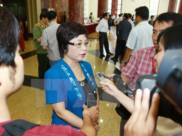 Đề nghị bãi nhiệm đại biểu Quốc hội đối với bà Châu Thị Thu Nga - ảnh 1