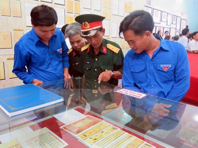 Trưng bày bằng chứng Hoàng Sa, Trường Sa của Việt Nam tại Quảng Nam - ảnh 1