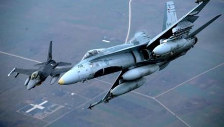 Các quốc gia Bắc Âu tập trận không quân cực lớn - ảnh 1