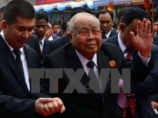 Campuchia: Chủ tịch đảng cầm quyền CPP Chea Sim qua đời - ảnh 1