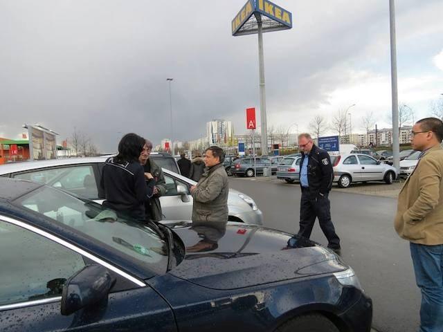 Cách xử lý va chạm giao thông ở Đức qua góc nhìn người Việt
