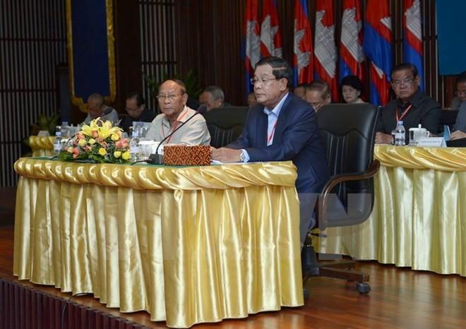 Campuchia: Đảng CPP bầu Thủ tướng Hun Sen làm Chủ tịch mới - ảnh 1