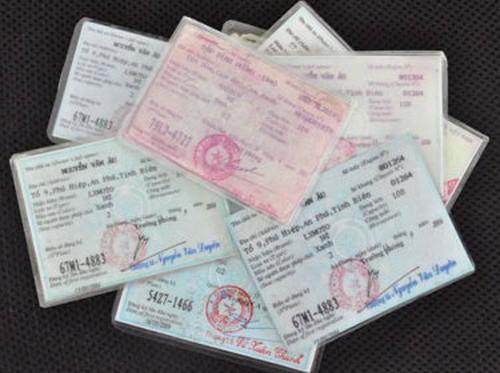 Đổi lại giấy chứng nhận đăng ký xe