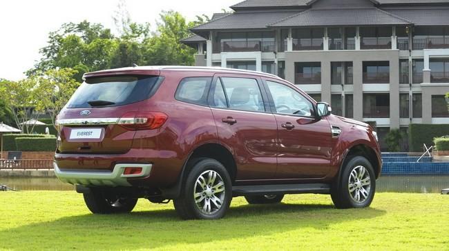 Ford Everest 2015 ra mắt tại Thái Lan giá bán từ 840 triệu đồng  - ảnh 3