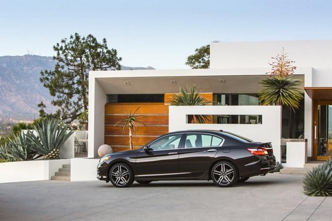 Chiêm ngưỡng thiết kế hoàn toàn mới của Honda Accord 2016  - ảnh 2