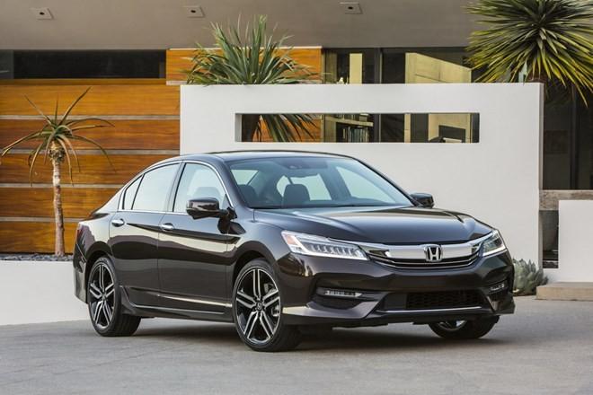 Chiêm ngưỡng thiết kế hoàn toàn mới của Honda Accord 2016