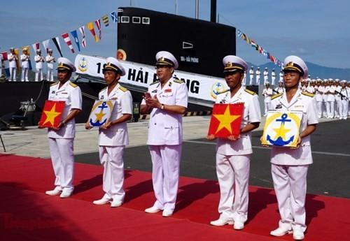 Thượng cờ tàu ngầm 184 - Hải Phòng và 185 - Khánh Hòa - ảnh 3