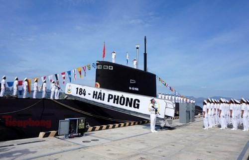 Thượng cờ tàu ngầm 184 - Hải Phòng và 185 - Khánh Hòa - ảnh 7