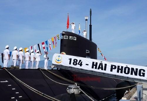 Thượng cờ tàu ngầm 184 - Hải Phòng và 185 - Khánh Hòa - ảnh 9