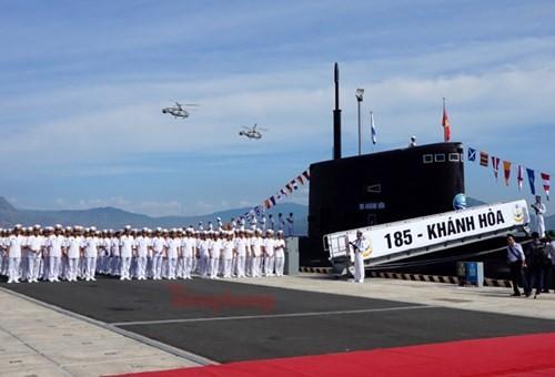 Thượng cờ tàu ngầm 184 - Hải Phòng và 185 - Khánh Hòa - ảnh 10