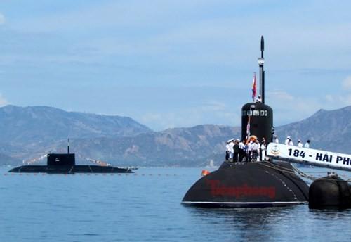 Thượng cờ tàu ngầm 184 - Hải Phòng và 185 - Khánh Hòa - ảnh 11