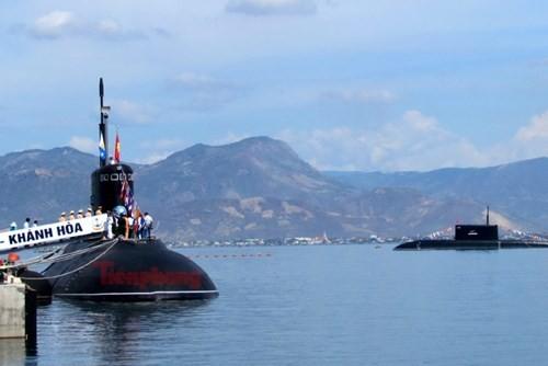 Thượng cờ tàu ngầm 184 - Hải Phòng và 185 - Khánh Hòa - ảnh 12