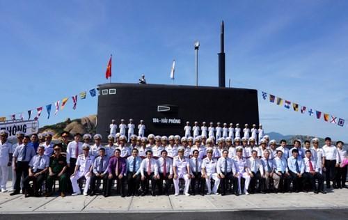 Thượng cờ tàu ngầm 184 - Hải Phòng và 185 - Khánh Hòa - ảnh 13