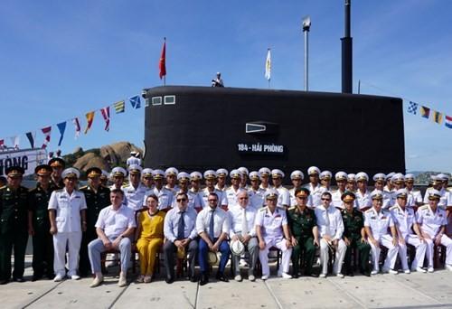 Thượng cờ tàu ngầm 184 - Hải Phòng và 185 - Khánh Hòa - ảnh 14