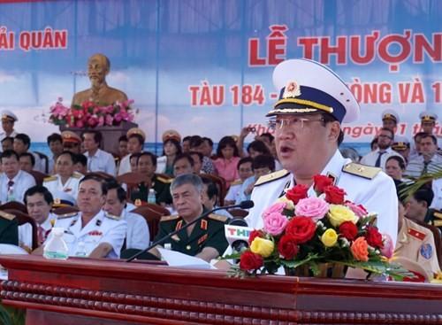 Thượng cờ tàu ngầm 184 - Hải Phòng và 185 - Khánh Hòa - ảnh 1