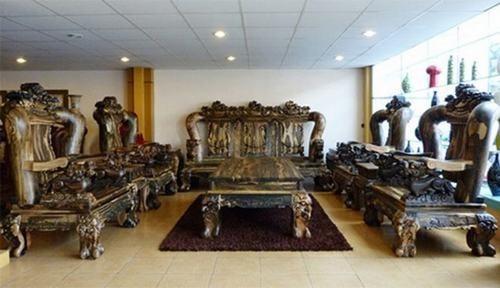 Bộ bàn ghế gỗ sưa trăm tỷ đắt nhất Việt Nam - ảnh 6