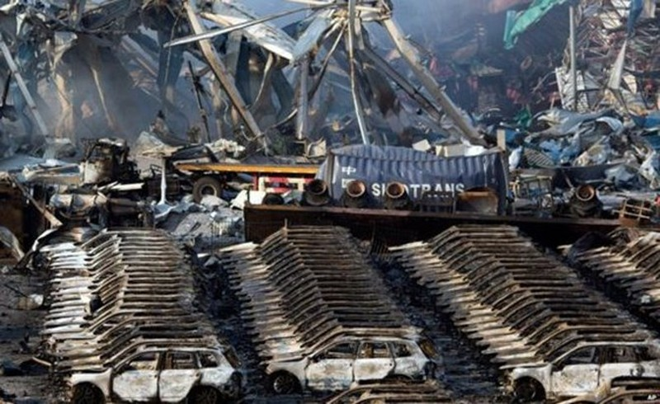 Hơn 8000 xe hơi bị phá huỷ trong vụ nổ tại Thiên Tân là của hãng nào?  - ảnh 2