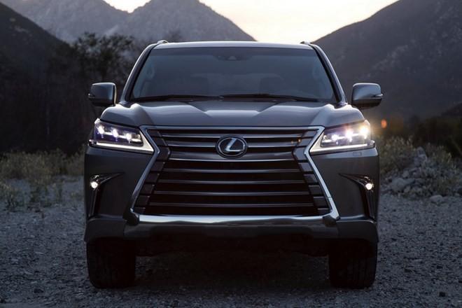 Xe Lexus LX 2016 cải tiến những gì? - ảnh 9