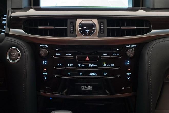 Xe Lexus LX 2016 cải tiến những gì? - ảnh 13