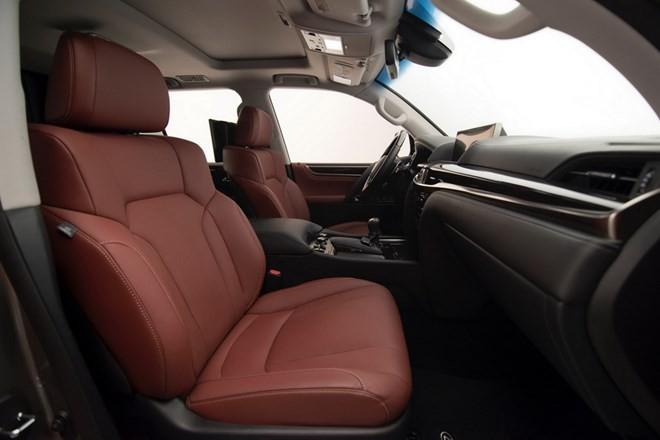 Xe Lexus LX 2016 cải tiến những gì? - ảnh 15