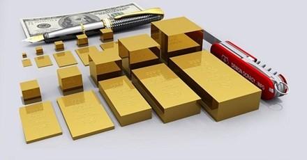 Những miếng vàng cỡ lớn hơn: 50 gram, 100 gram, 250 gram, 500 gram, và 1 kg vàng.