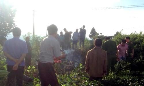 Đang bới tìm xác nạn nhân vụ giết người hàng loạt ở Lâm Đồng - ảnh 2