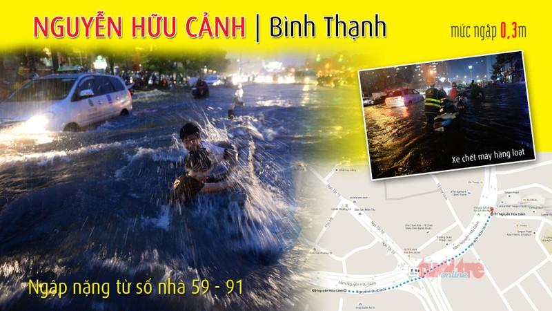Đi đường Sài Gòn khi mưa lớn nhớ kỹ 66 điểm này  - ảnh 4