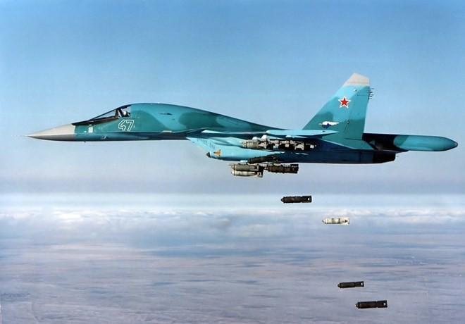 Nga đã san phẳng trung tâm chỉ huy của tổ chức IS ở Raqa - ảnh 1