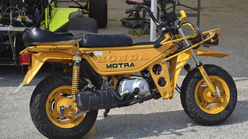 Bảy mẫu xe máy 'cực độc' của Honda - ảnh 3
