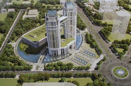 Nghệ An xây khu hành chính cao 27 tầng với hơn 2.000 tỉ đồng - ảnh 1