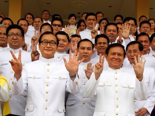 Quốc hội Campuchia bãi miễn Phó Chủ tịch thứ nhất Kem Sokha - ảnh 1