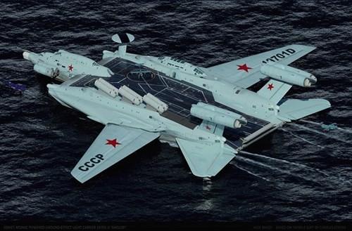 Hé lộ về dự án tàu sân bay 'cực độc' của Liên Xô - ảnh 4