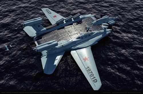 Hé lộ về dự án tàu sân bay 'cực độc' của Liên Xô - ảnh 5