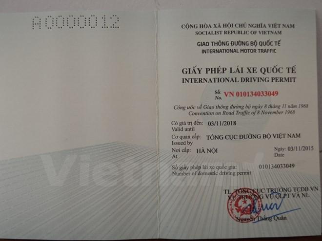 Chính thức cấp giấy phép lái xe quốc tế, người dân hào hứng - ảnh 1