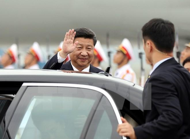 Tổng bí thư, chủ tịch Trung Quốc phát biểu cảm tưởng khi tới Việt Nam - ảnh 1