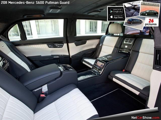 Cận cảnh xe chống đạn Mercedes S600 Pullman Guard đón ông Tập Cận Bình  - ảnh 12