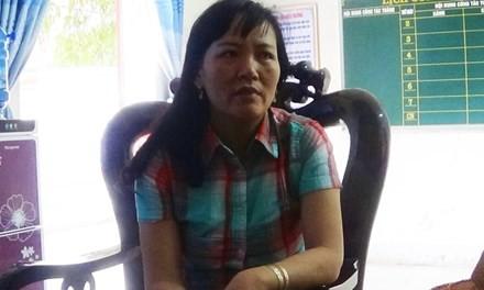 Hiệu trưởng Trường mầm non Xuân Phổ - Nguyễn Thị Duyên.