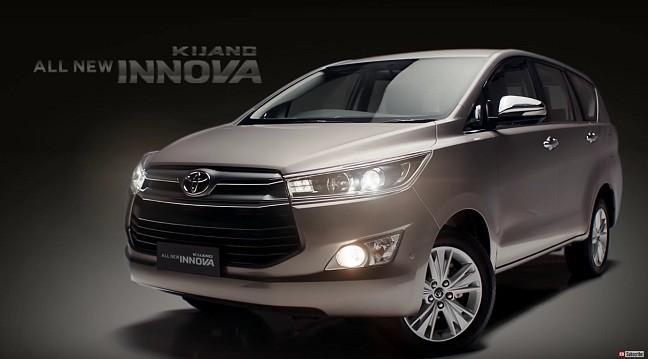 Toyota Innova 2016 sở hữu bộ mặt hoàn toàn mới  - ảnh 1