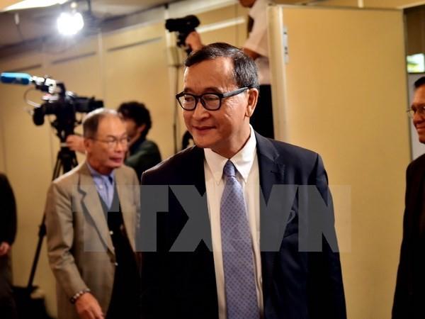 Liên Hiệp Quốc quan ngại việc Campuchia ra lệnh bắt giữ Sam Rainsy - ảnh 1