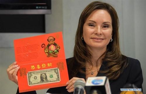 Mỹ ra mắt bộ sưu tập tiền 'lì xì may mắn' năm Bính Thân - ảnh 6