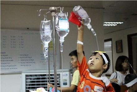 Trẻ Việt Nam mắc Thalassemia. Ảnh do Hội Thalassemia Việt Nam cung cấp.