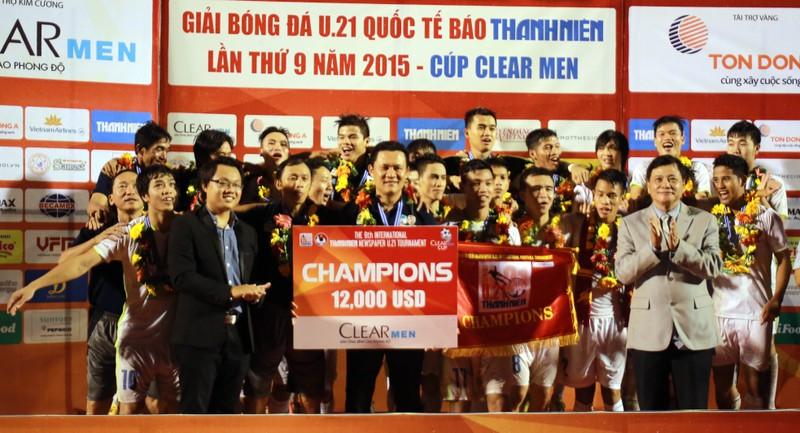 U21 HAGL - U19 Hàn Quốc 2-0: Dấu ấn Công Phượng - ảnh 1
