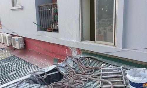 Nam công nhân rơi từ tầng 8 khi đang sơn nhà - ảnh 3