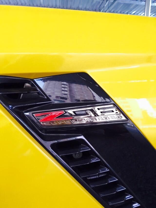 Chevrolet Corvette C7 Z06 Convertible đầu tiên cập bến Việt Nam - ảnh 8