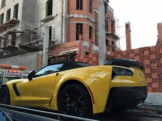 Chevrolet Corvette C7 Z06 Convertible đầu tiên cập bến Việt Nam - ảnh 2