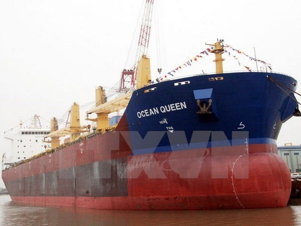 Tàu Việt Nam bị lật tại Myanmar sau khi va chạm với tàu chở dầu - ảnh 1