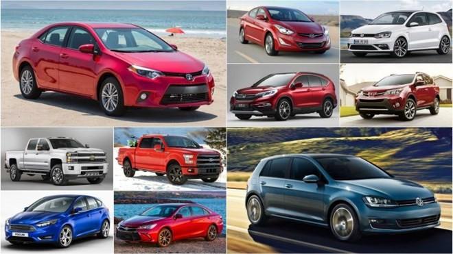 TOP 10 xe bán chạy nhất thế giới 2015 - ảnh 1